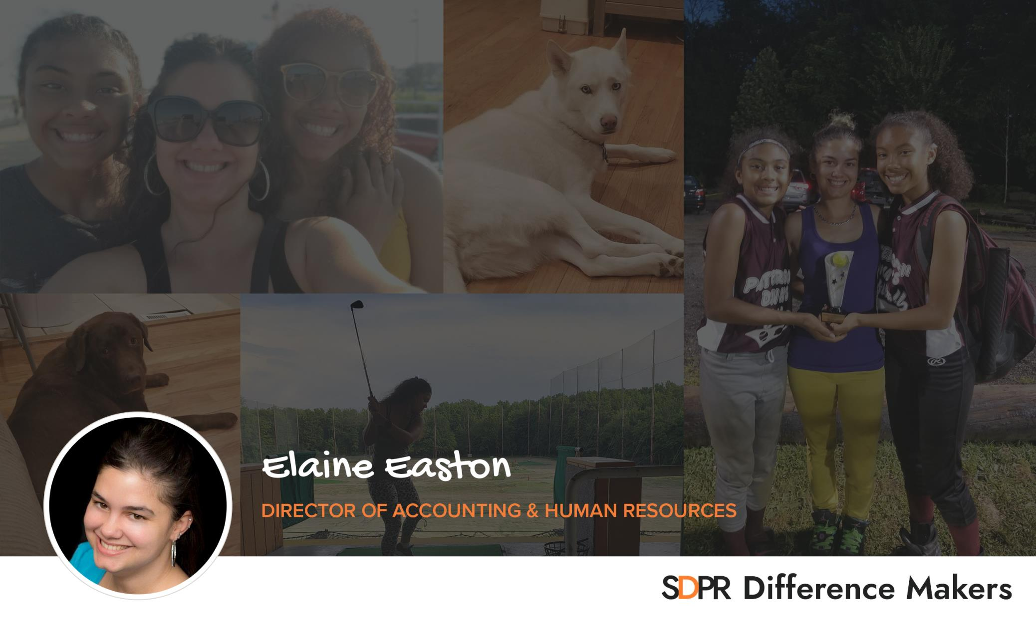 Meet Elaine: Accounting Director, Difference Maker, Super-Mom