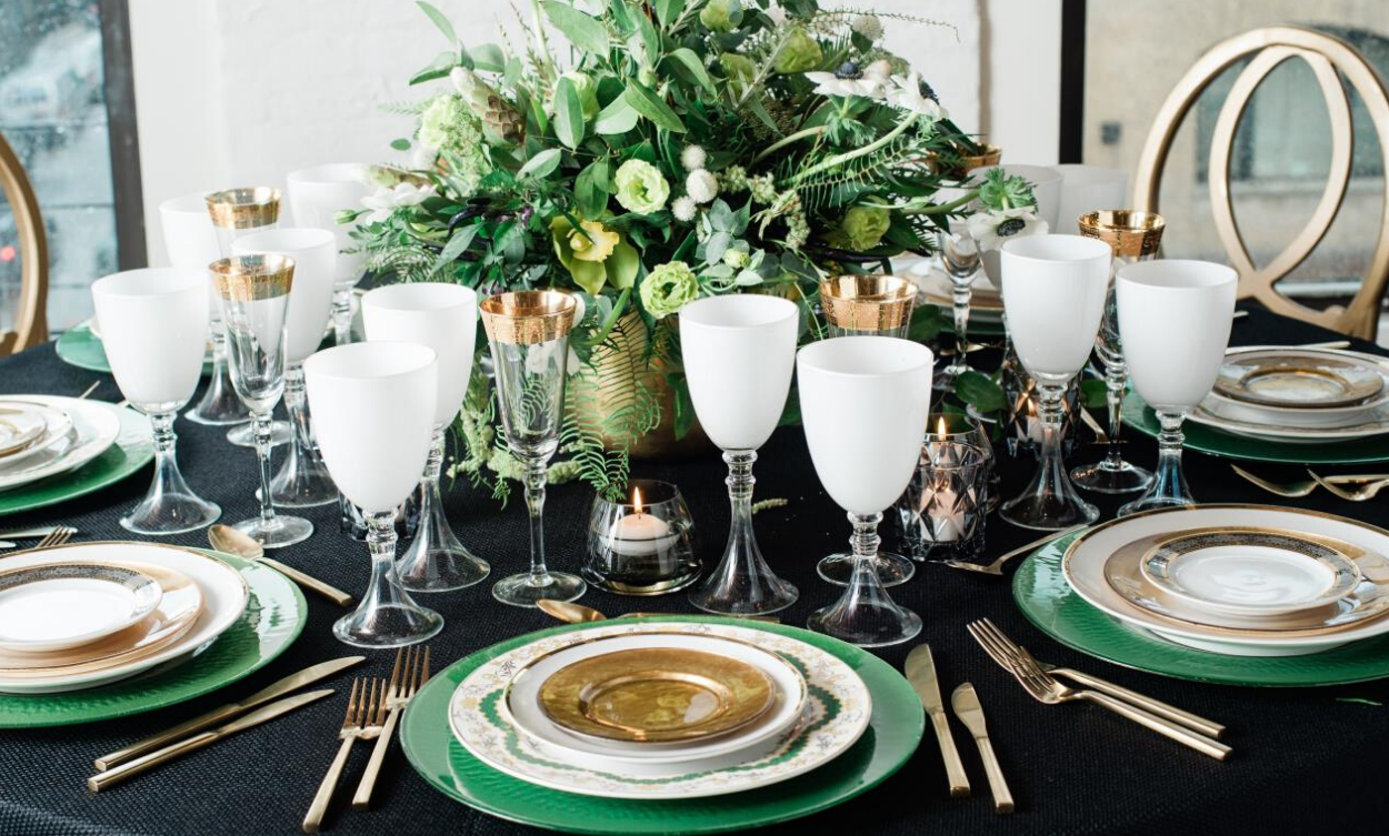 Brilliant Gold Rentals That'll Wow Your Guests