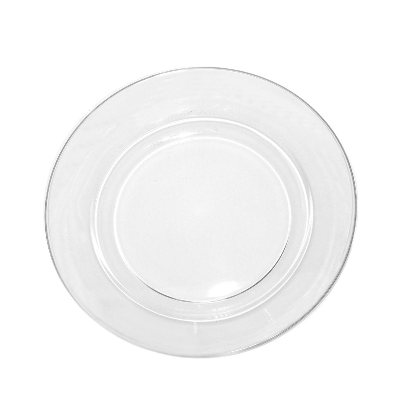 Clear Glass Collection -  B&B Plate 6.25""