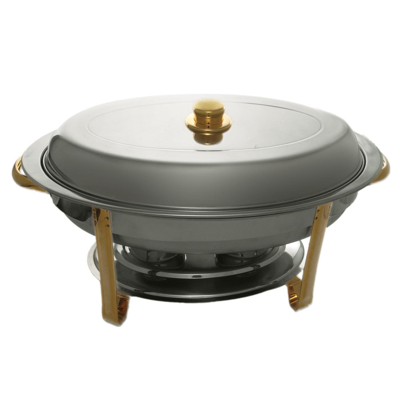 Chrome Oval Chafer