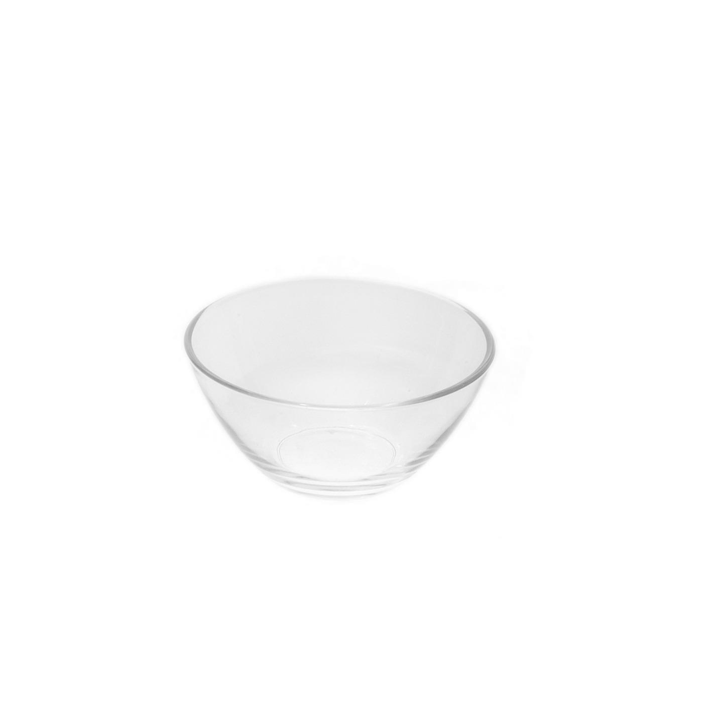 """Glass V Bowl - 4"""""""