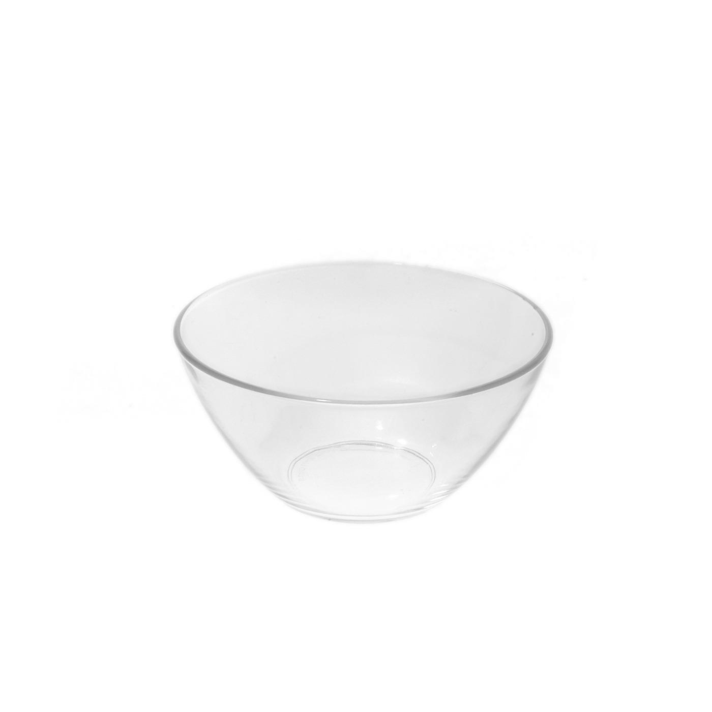 """Glass V Bowl - 5.5"""""""