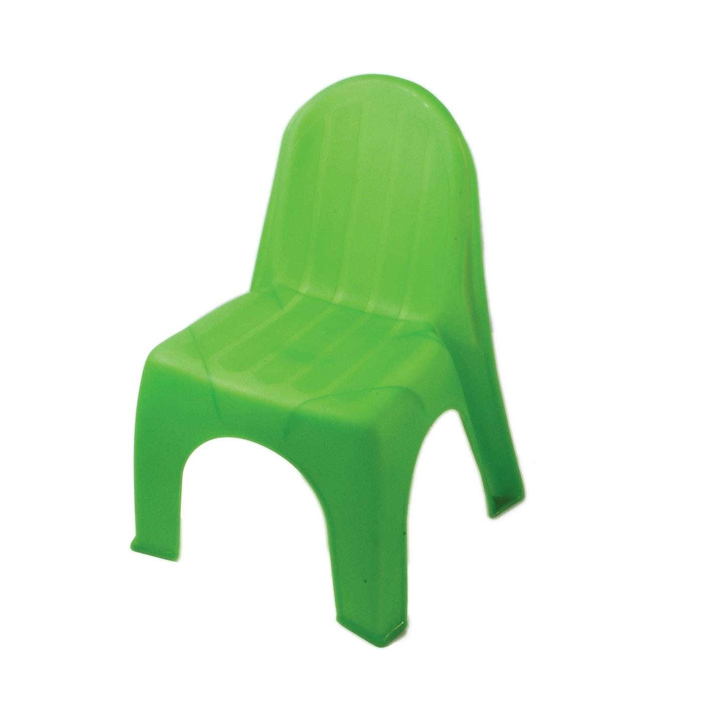 Plastic Children's Chair - Lime