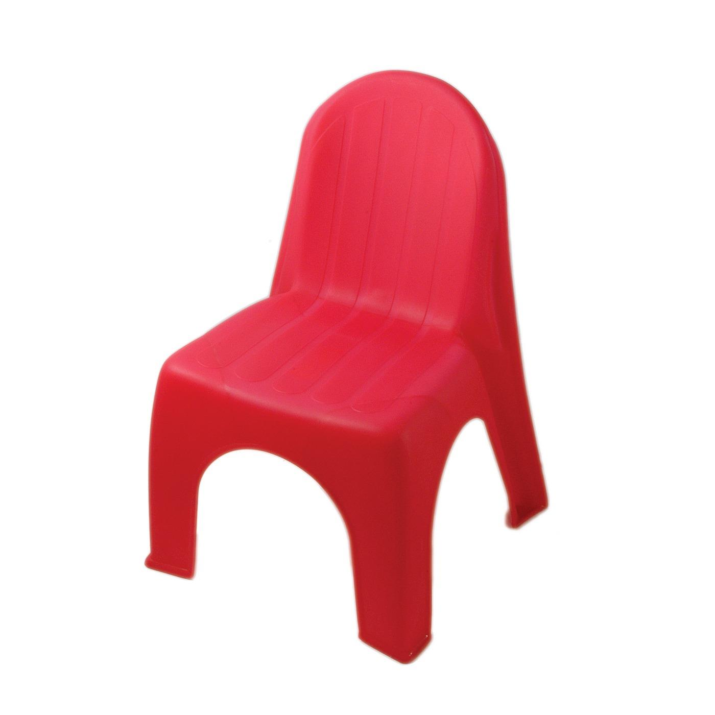Plastic Children's Chair - Pink
