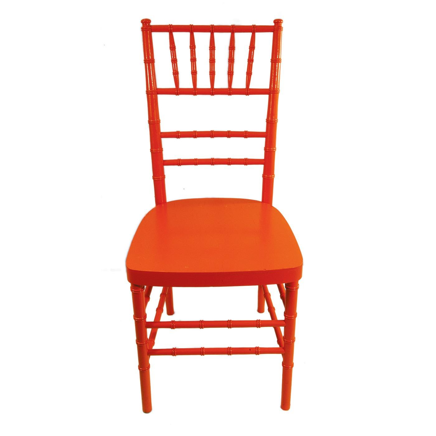 Orange Reception Chair