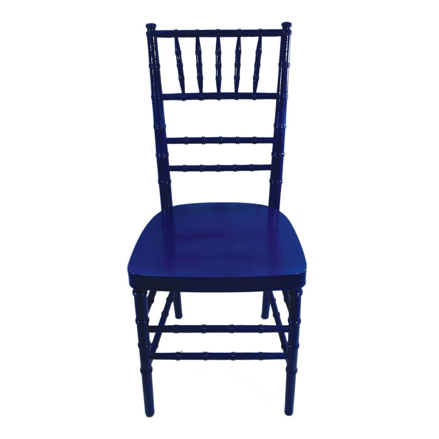 Royal Blue Reception Chair