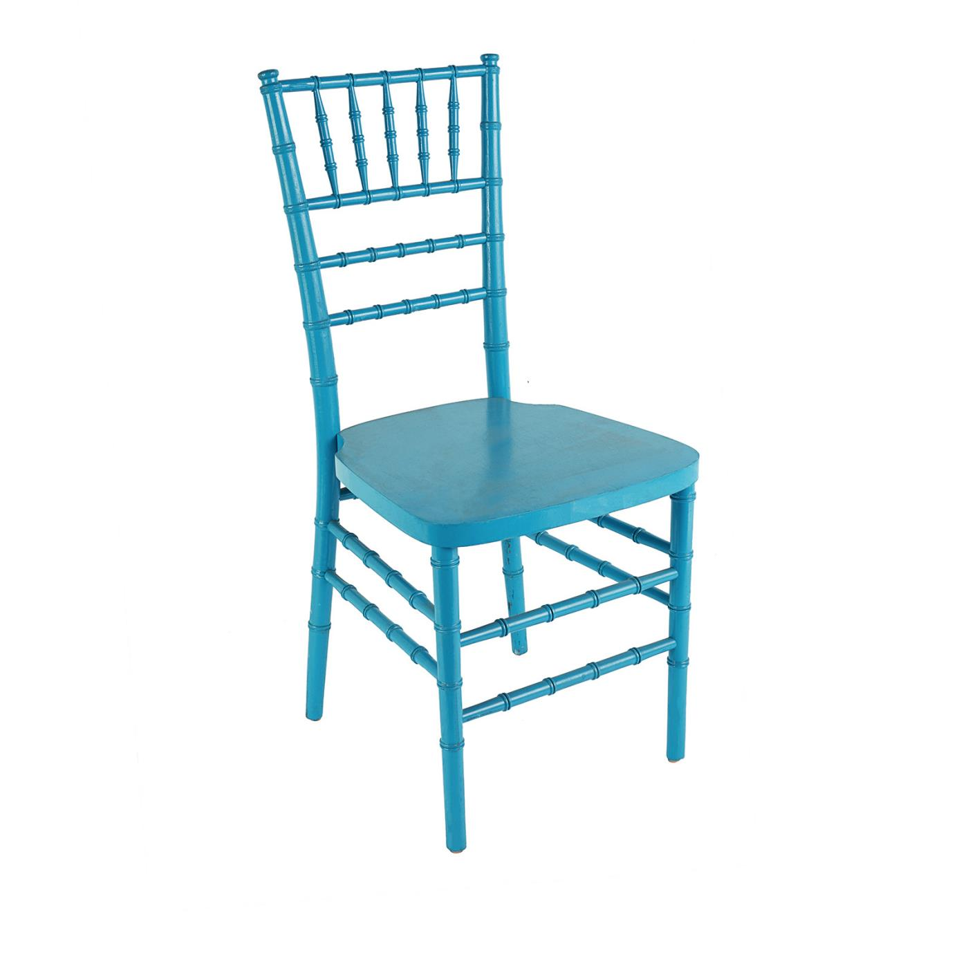 Grotto Blue Reception Chair