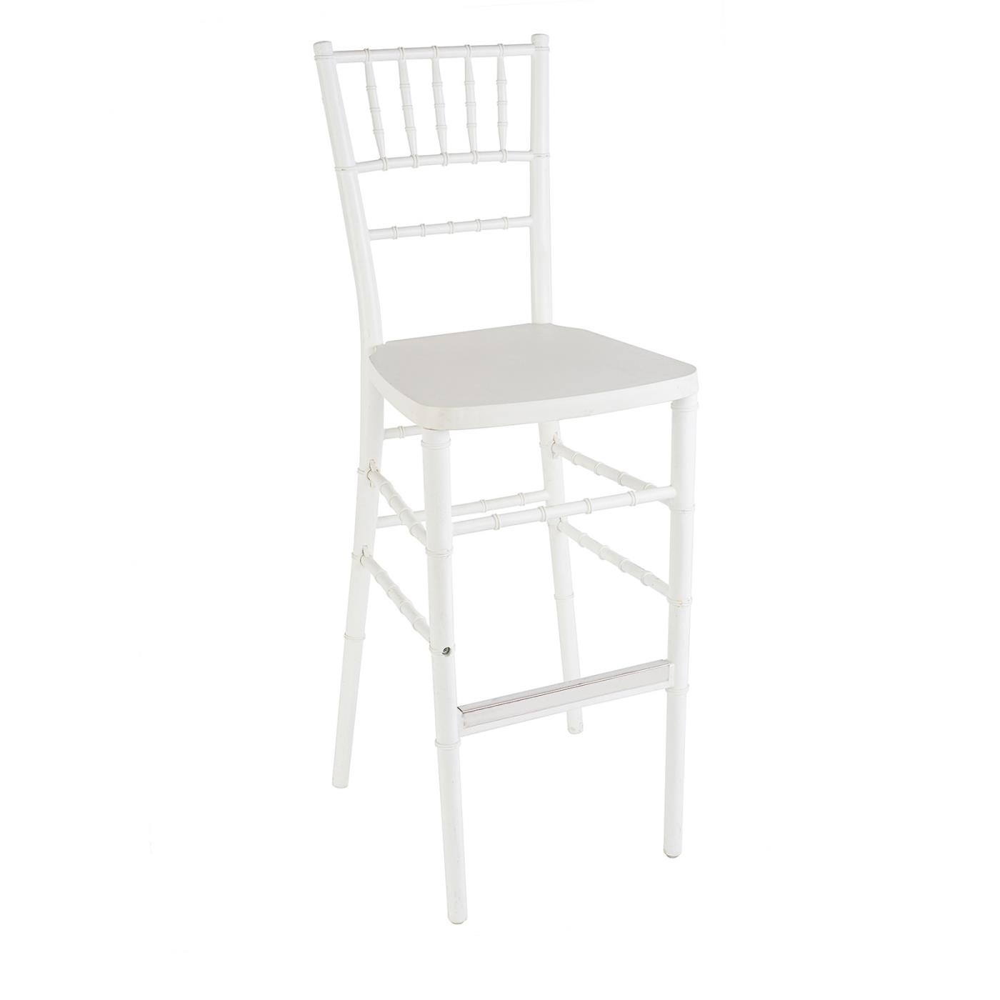 Reception Stool - White