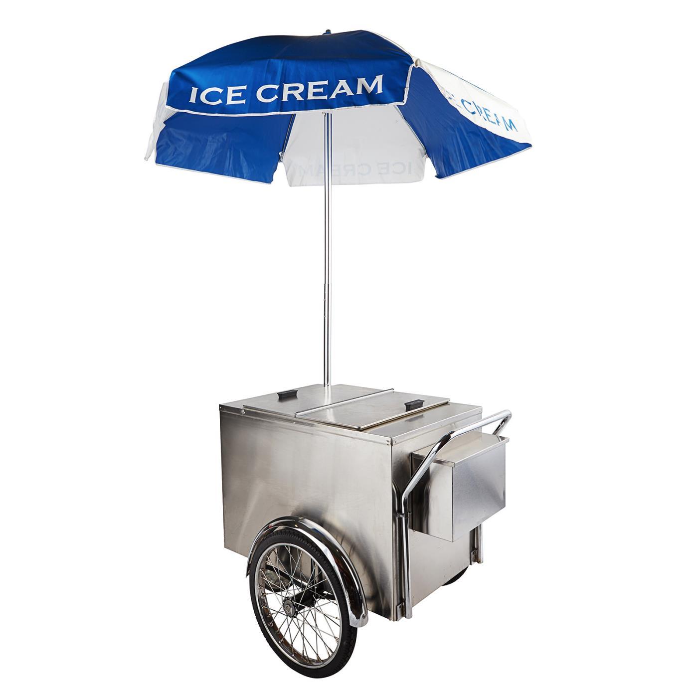Ice Cream Cart Umbrella