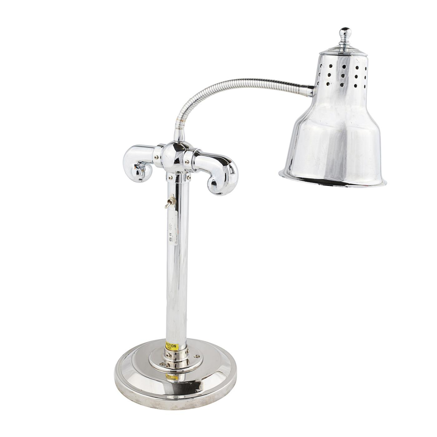 Heat Lamp - Stainless Steel Single Lamp