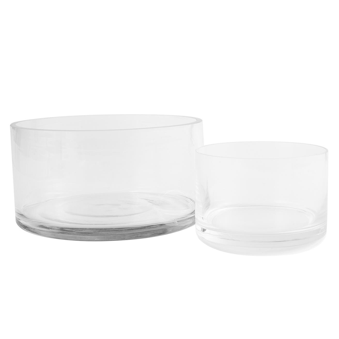 Glass Straight Sided Bowl