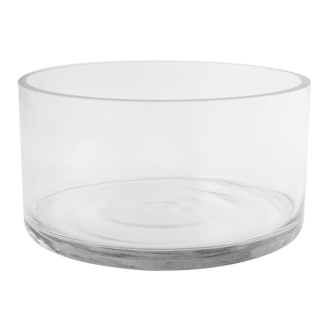 Glass Straight Sided Bowl - 10""