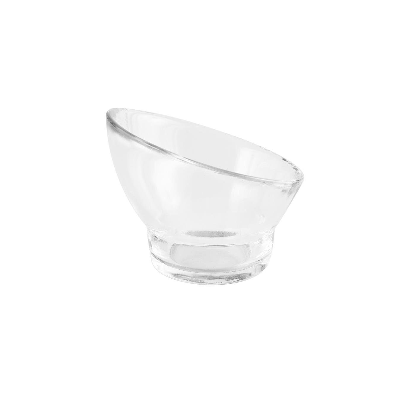 Glass Slanted Bowl - 4