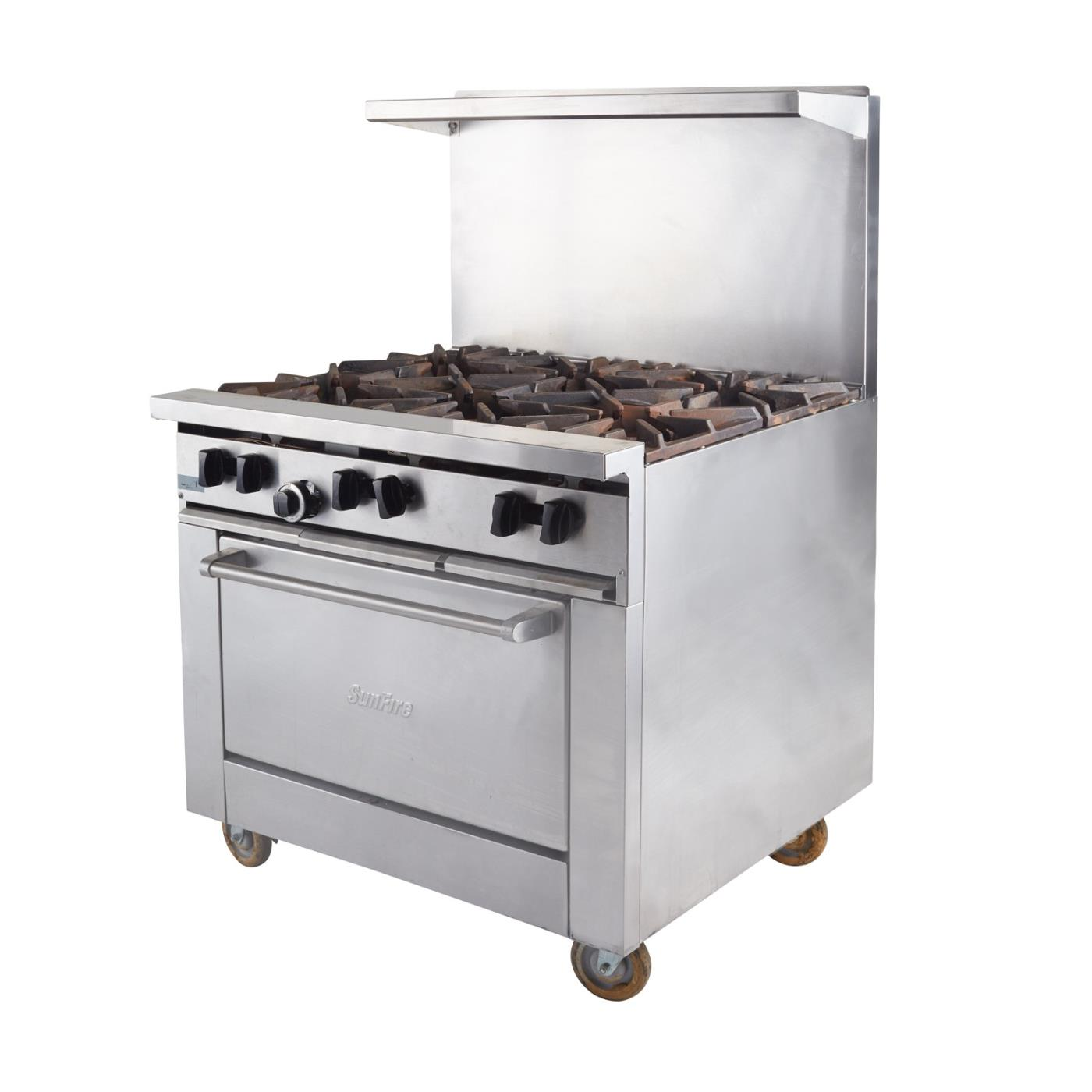 Propane Stove - Oven With 6 Burners