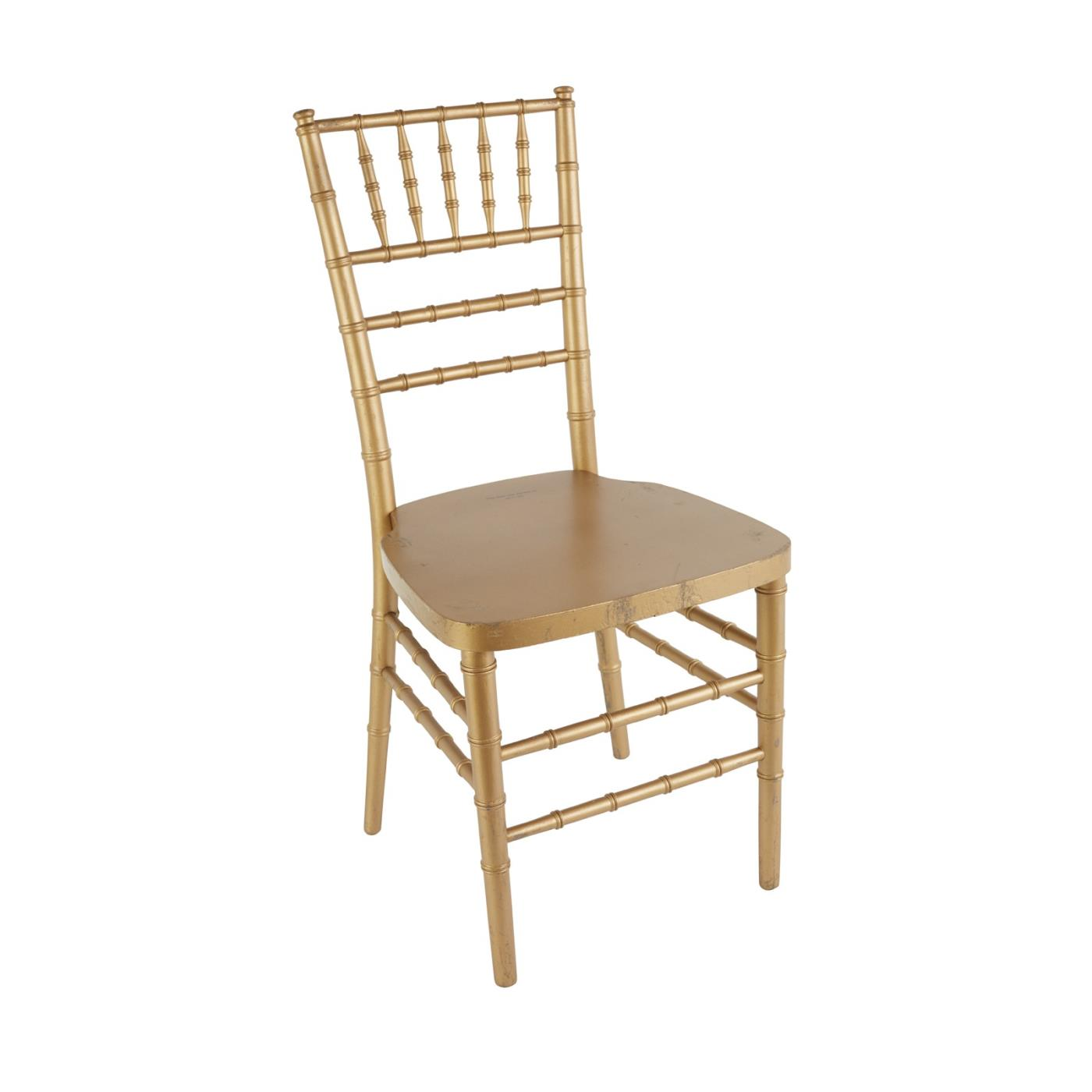 Gold Reception Chair Rentals NYC | SDPR