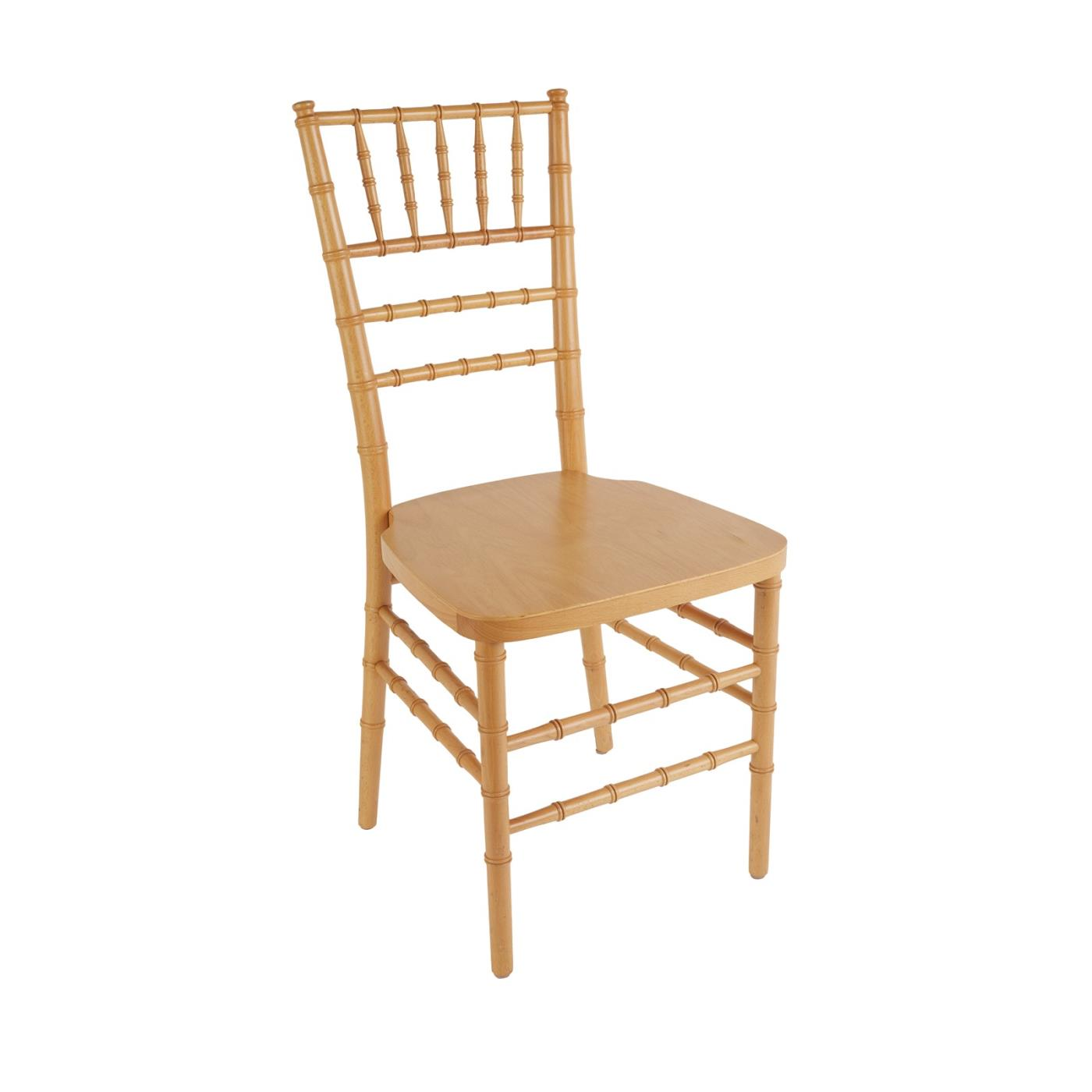 Natural Reception Chair