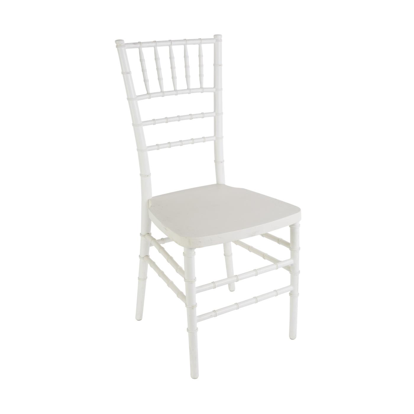 White Reception Chair