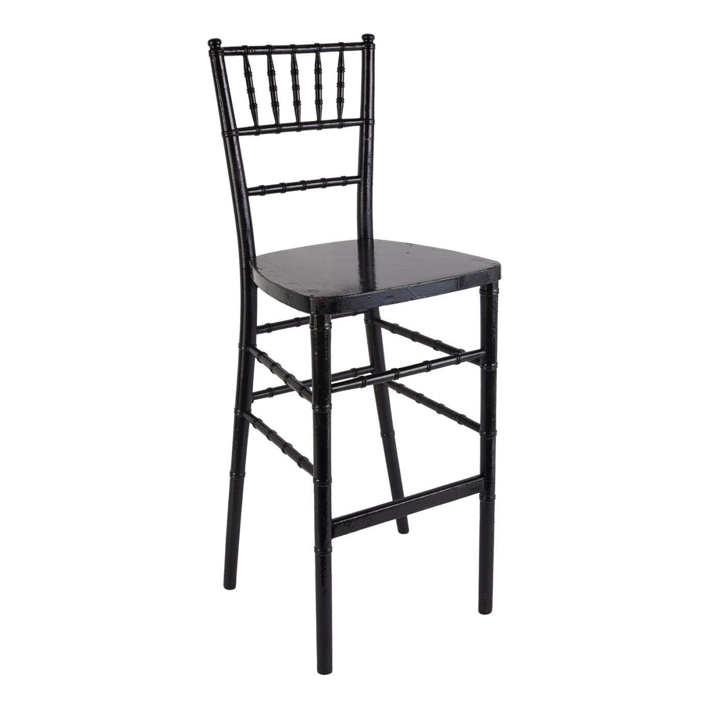 Reception Stool - Black