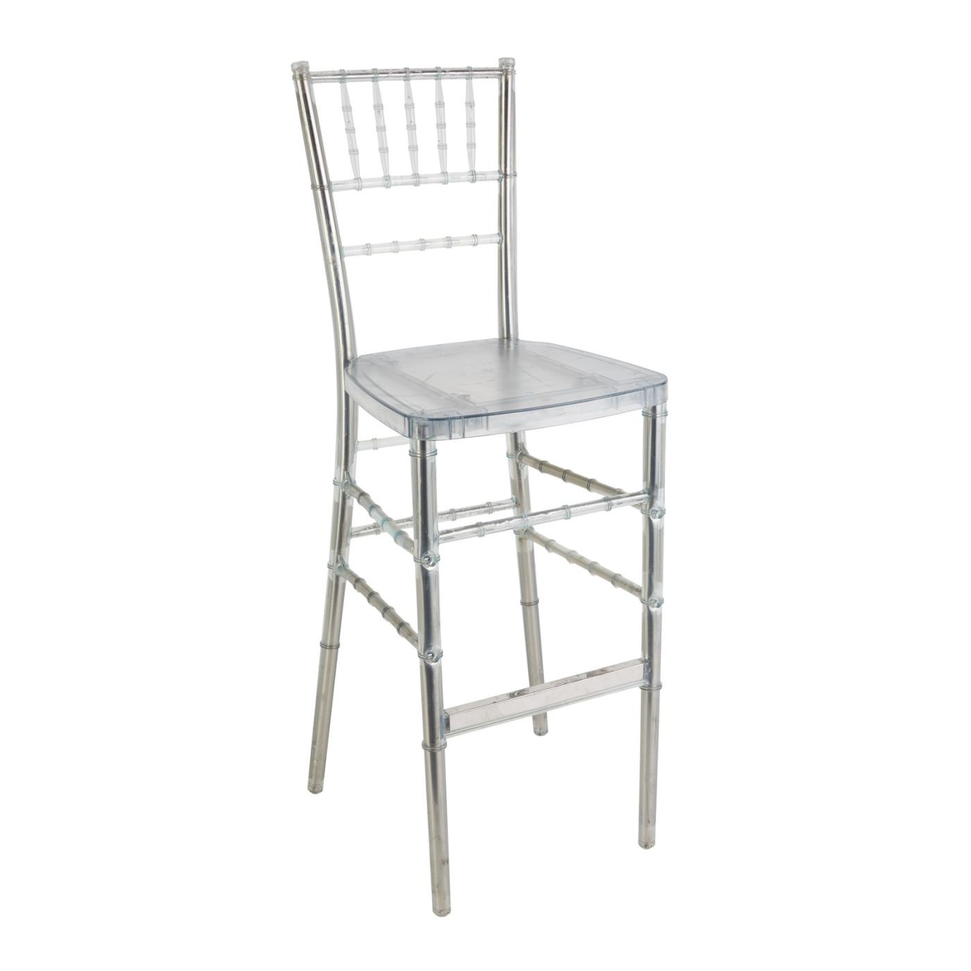 Reception Stool - Clear