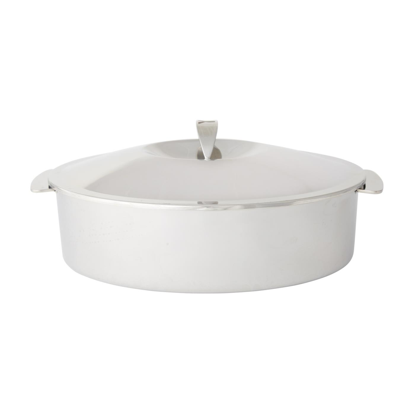 "Steel Oval Dutch Oven - 13.5"" x 9"""