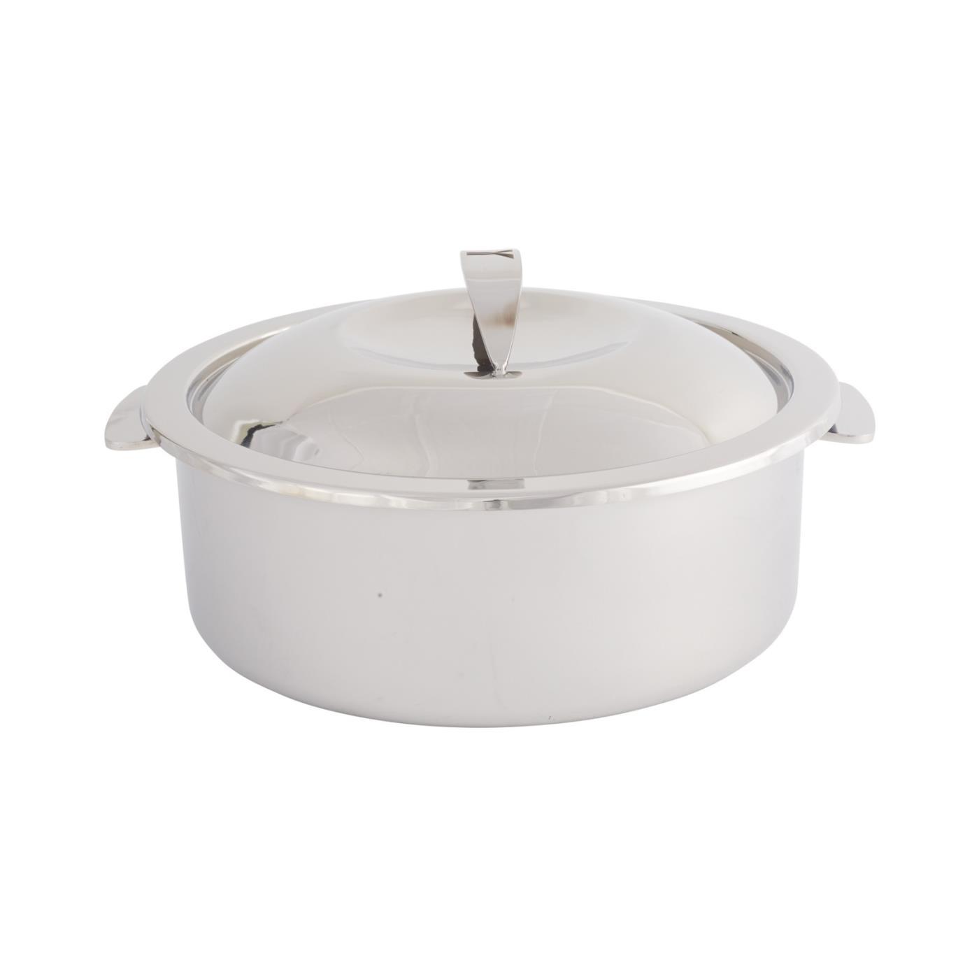 """Steel Round Dutch Oven - 10.5"""""""
