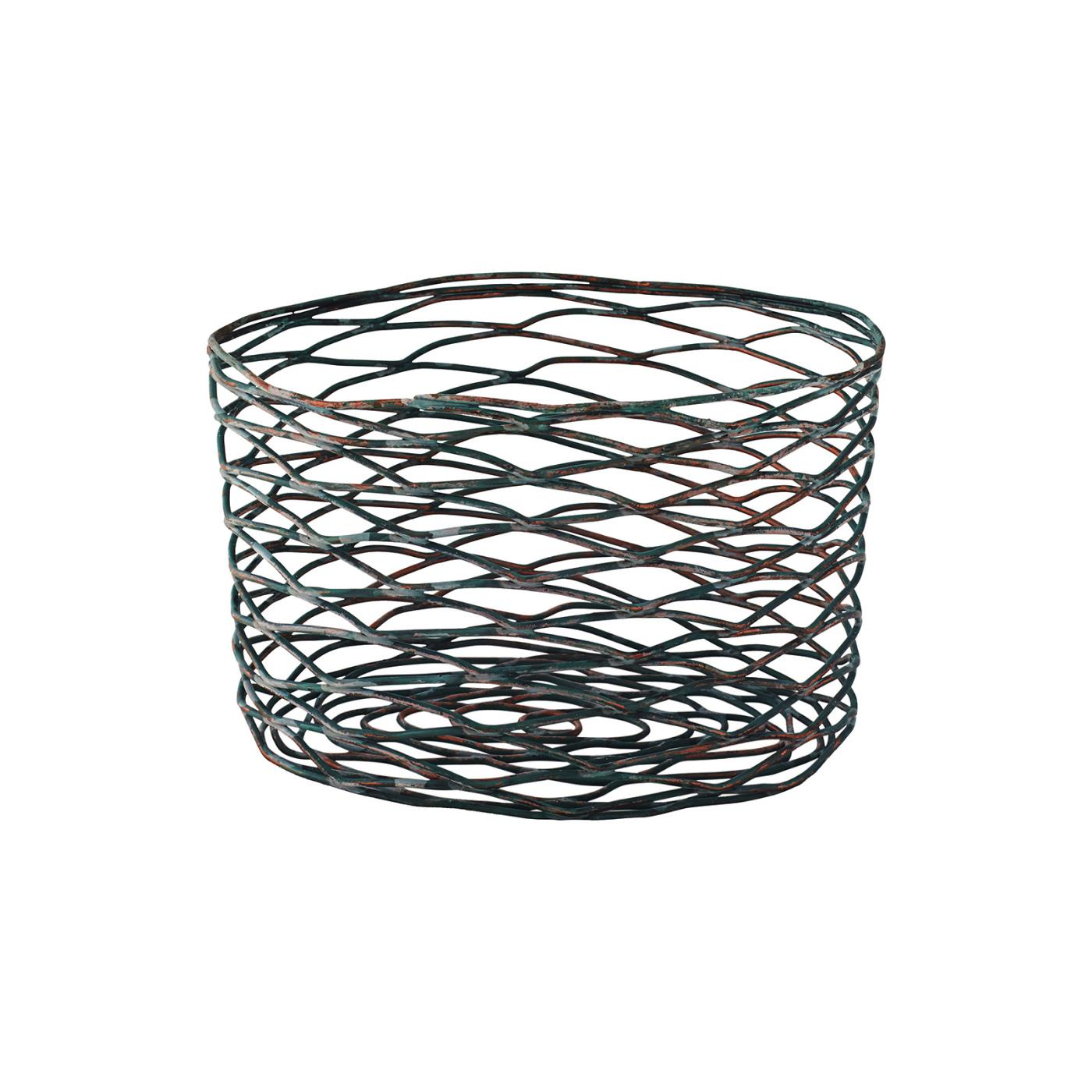 Patina Oval Basket