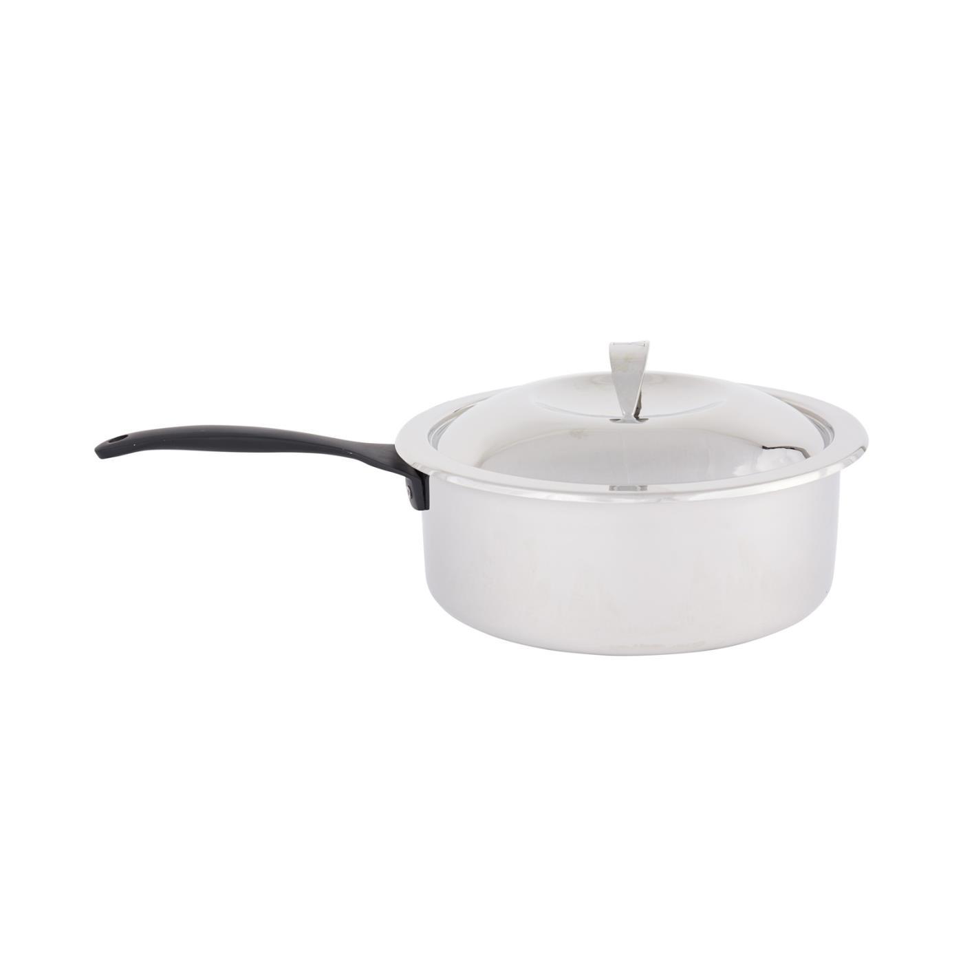 Steel Round Sauce Pan