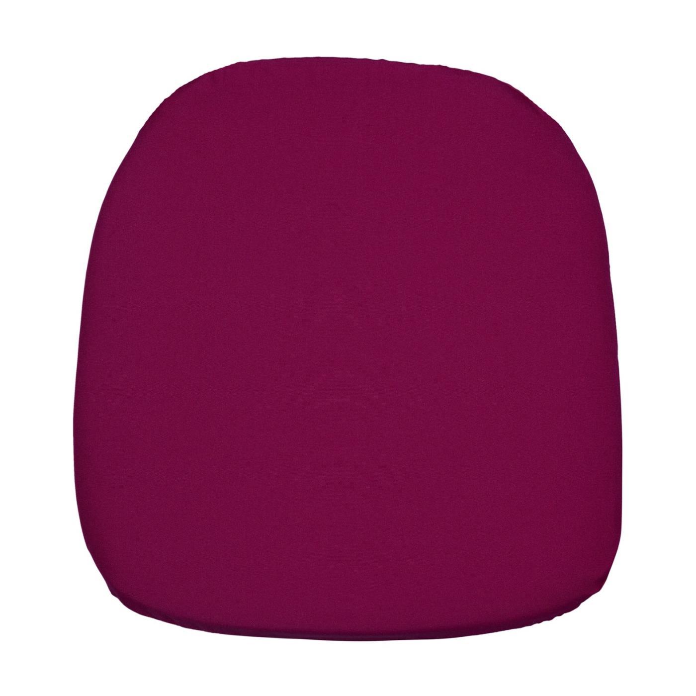 Poly Seat Cushion - Raspberry