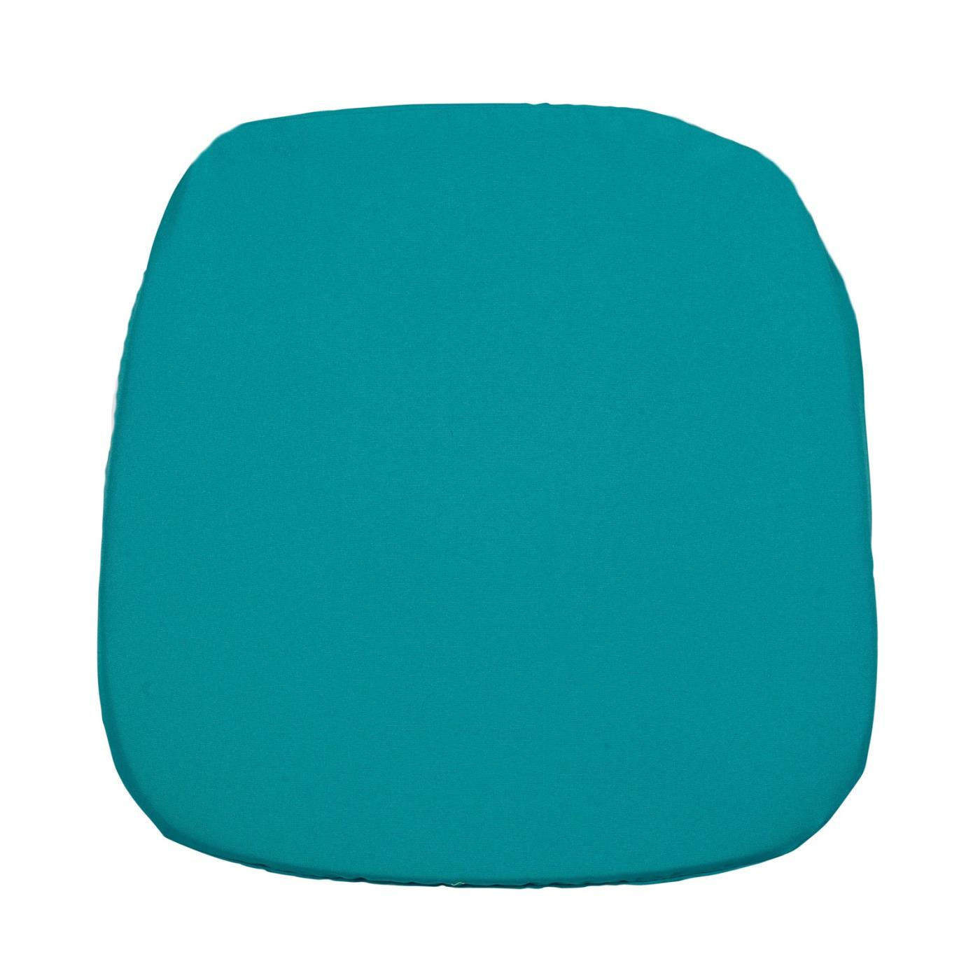 Poly Seat Cushion - Turquoise