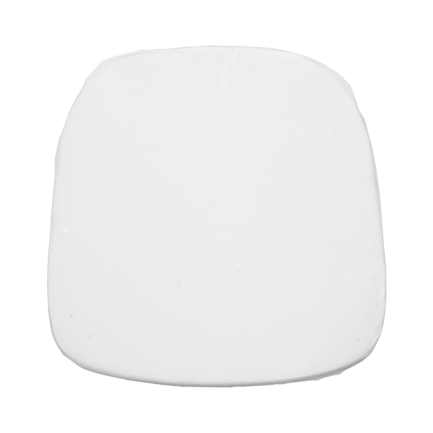 Poly Seat Cushion - White