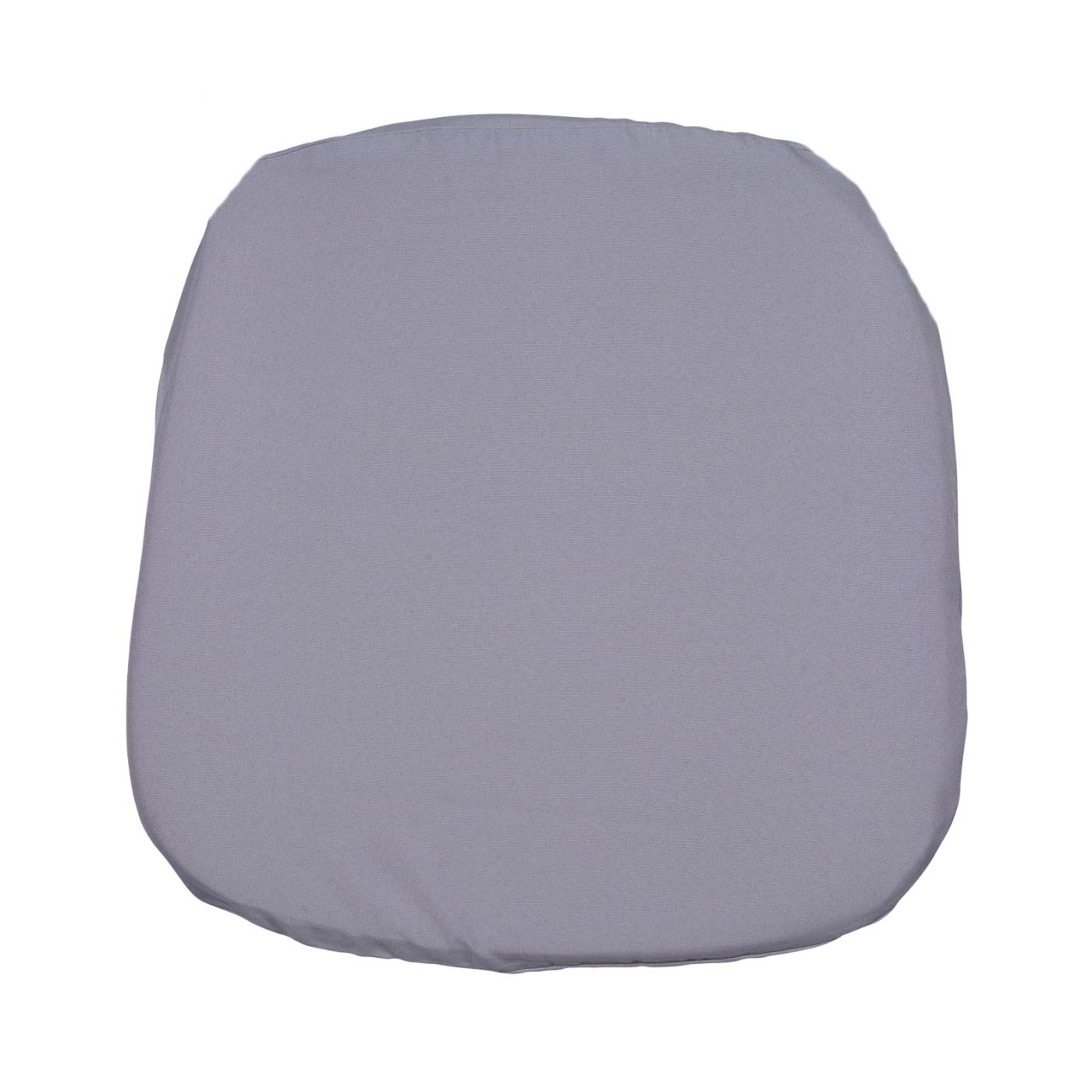 Poly Seat Cushion - Silver