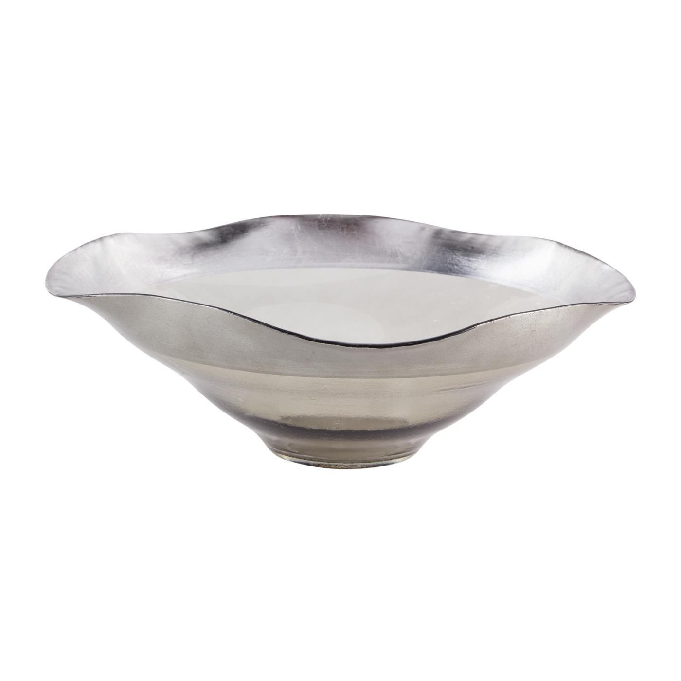 """Smoked Luster Bowl - 13.75"""""""