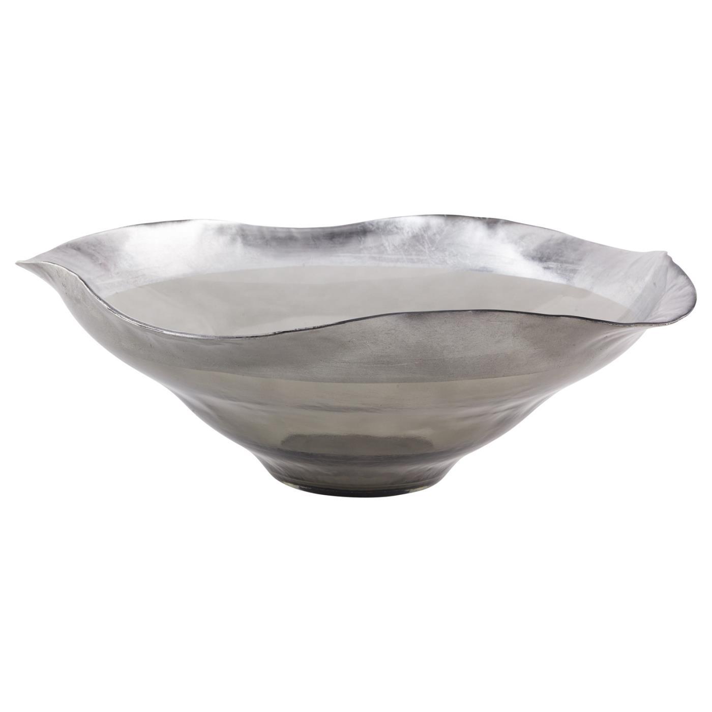 """Smoked Luster Bowl - 17.75"""""""