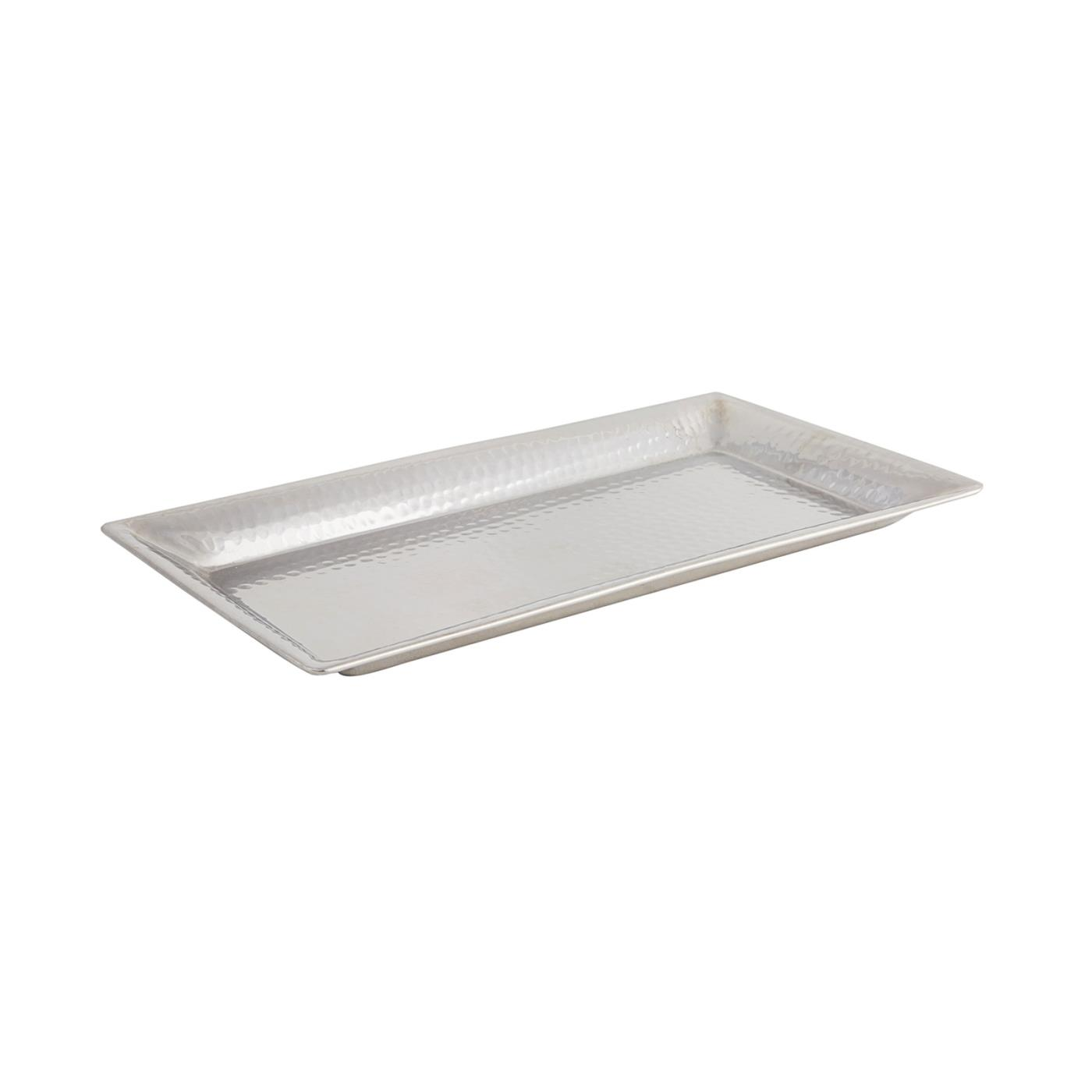 """Hammered Rectangle Tray - 7.5"""" x 14.5"""""""