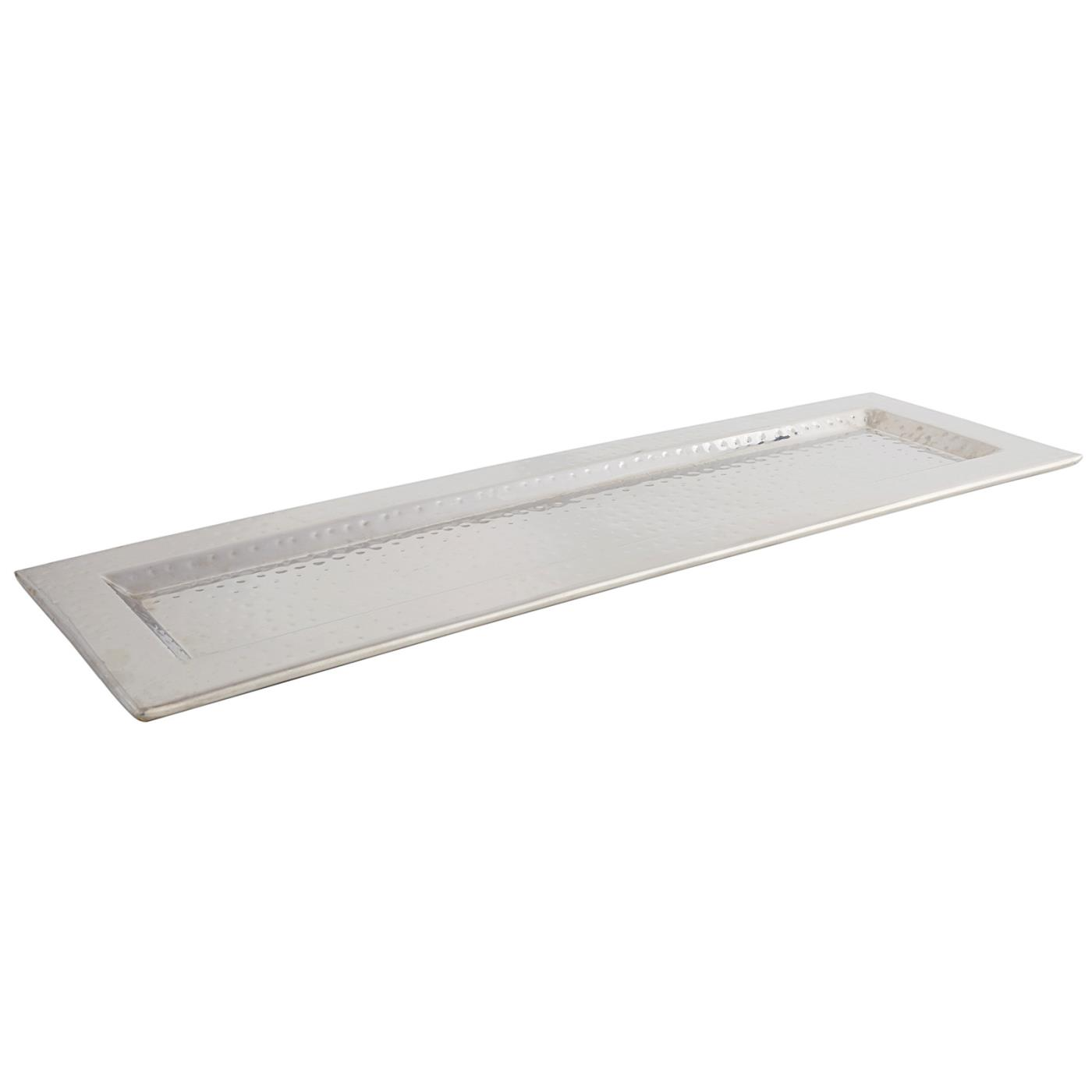 """Hammered Rectangle Tray - 7.25"""" x 23.5"""""""
