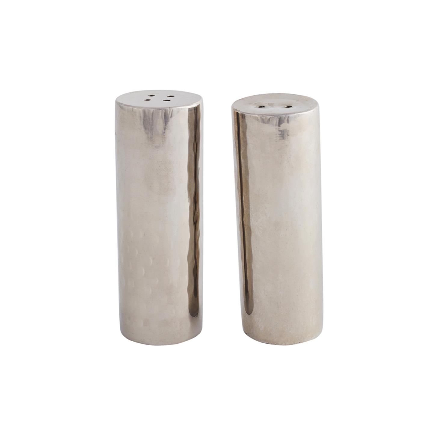 Salt & Pepper Set - SS Hammered