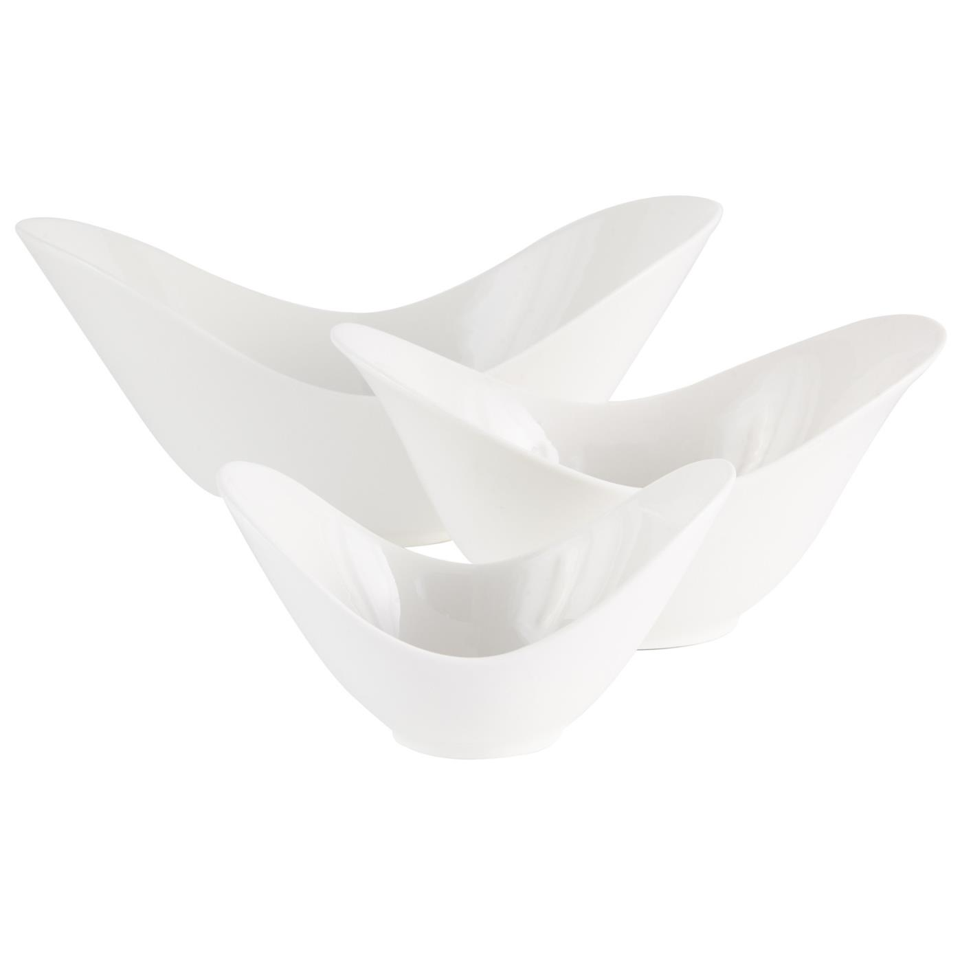 White Ceramic Spirit Bowl