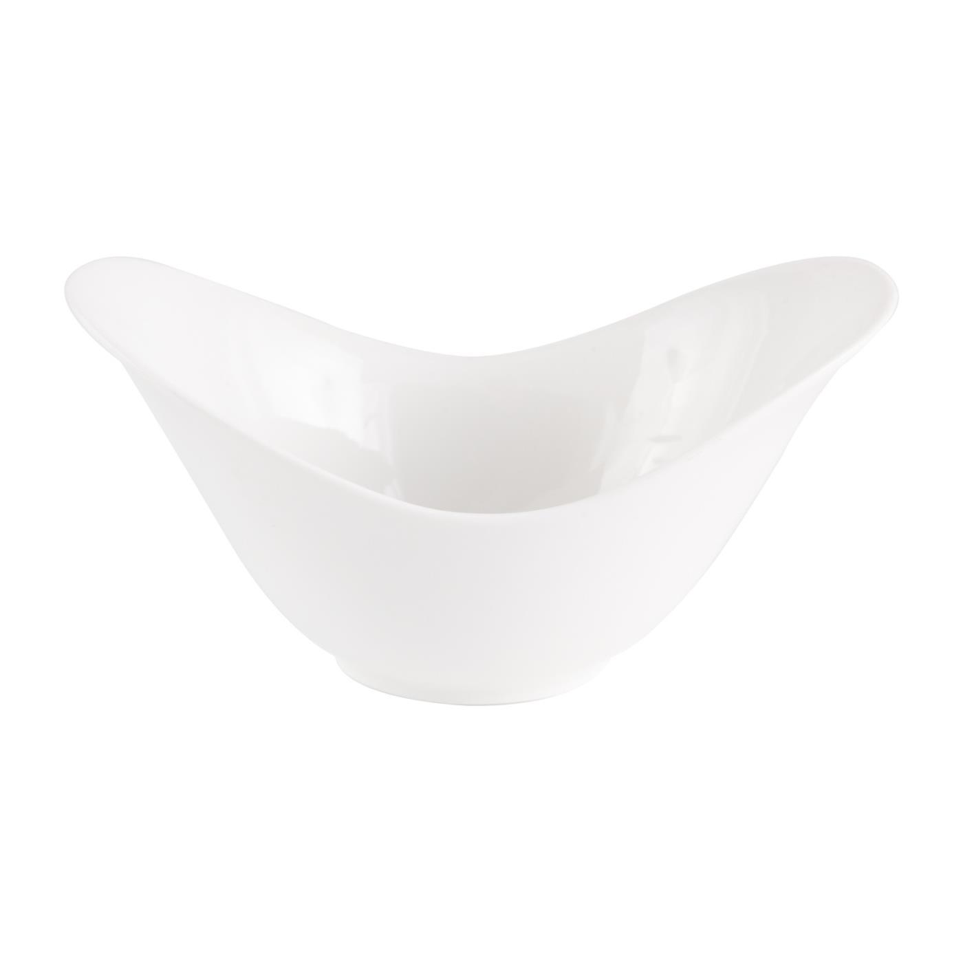 "White Ceramic Spirit Bowl - 8.5"""