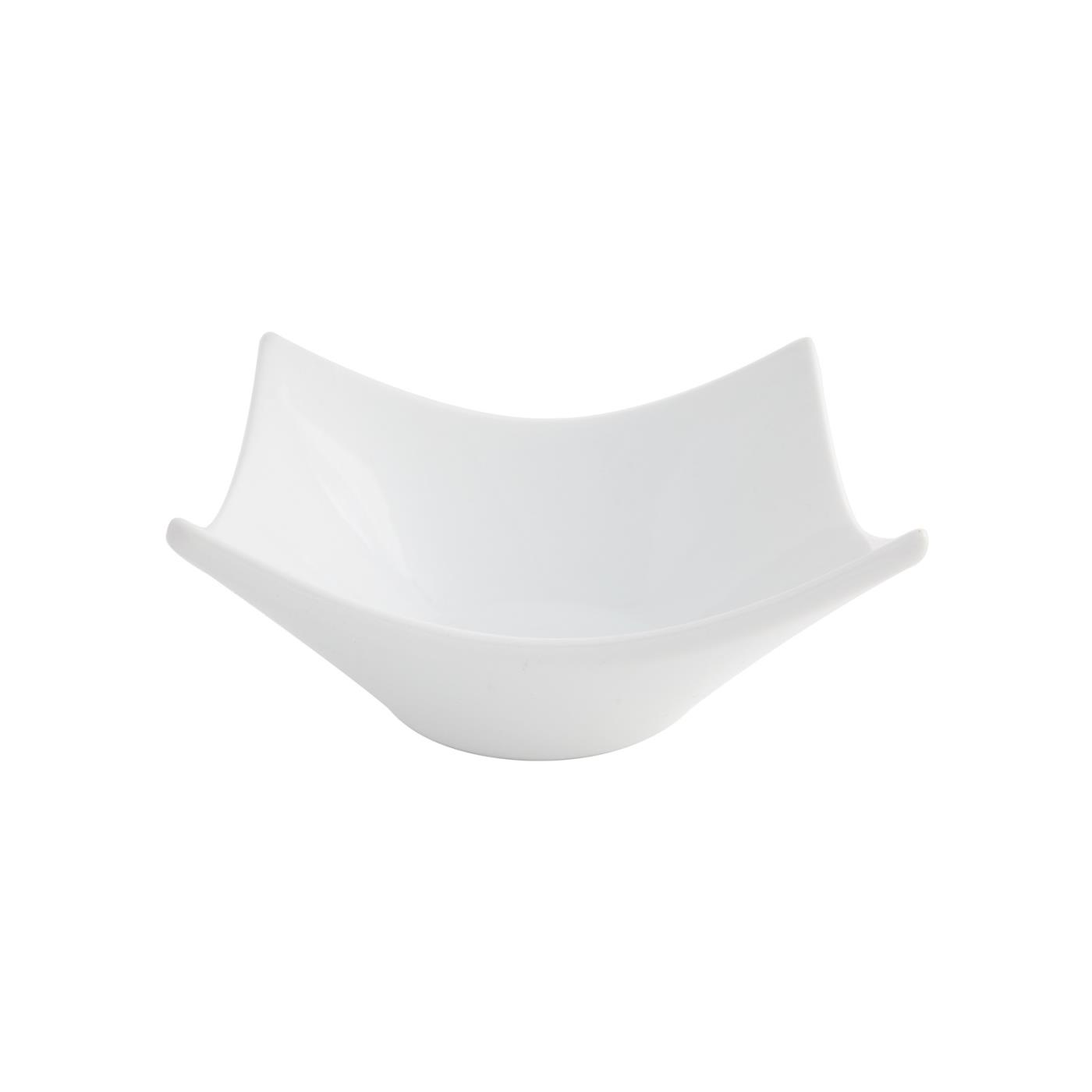 "White Square Origami Dish - 5"""