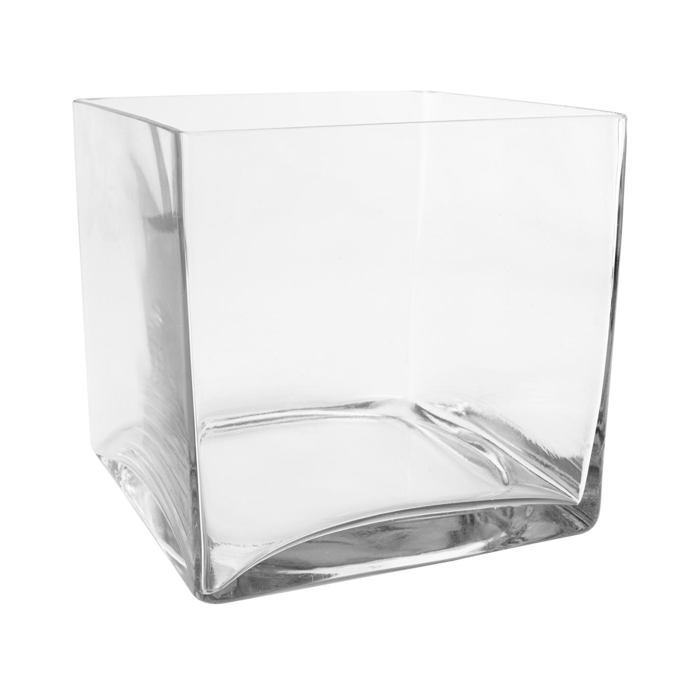 Glass Cube - 8""