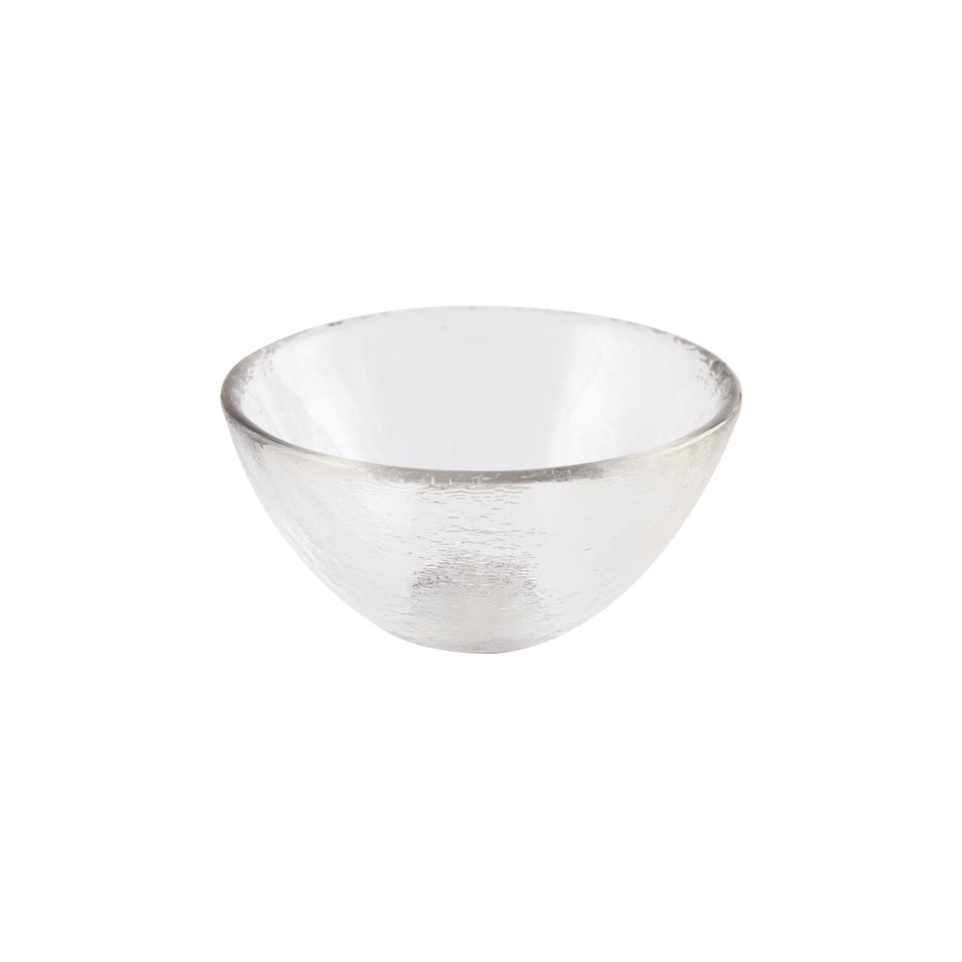 "Glass Dipping Bowl 3.25"" - Clear"