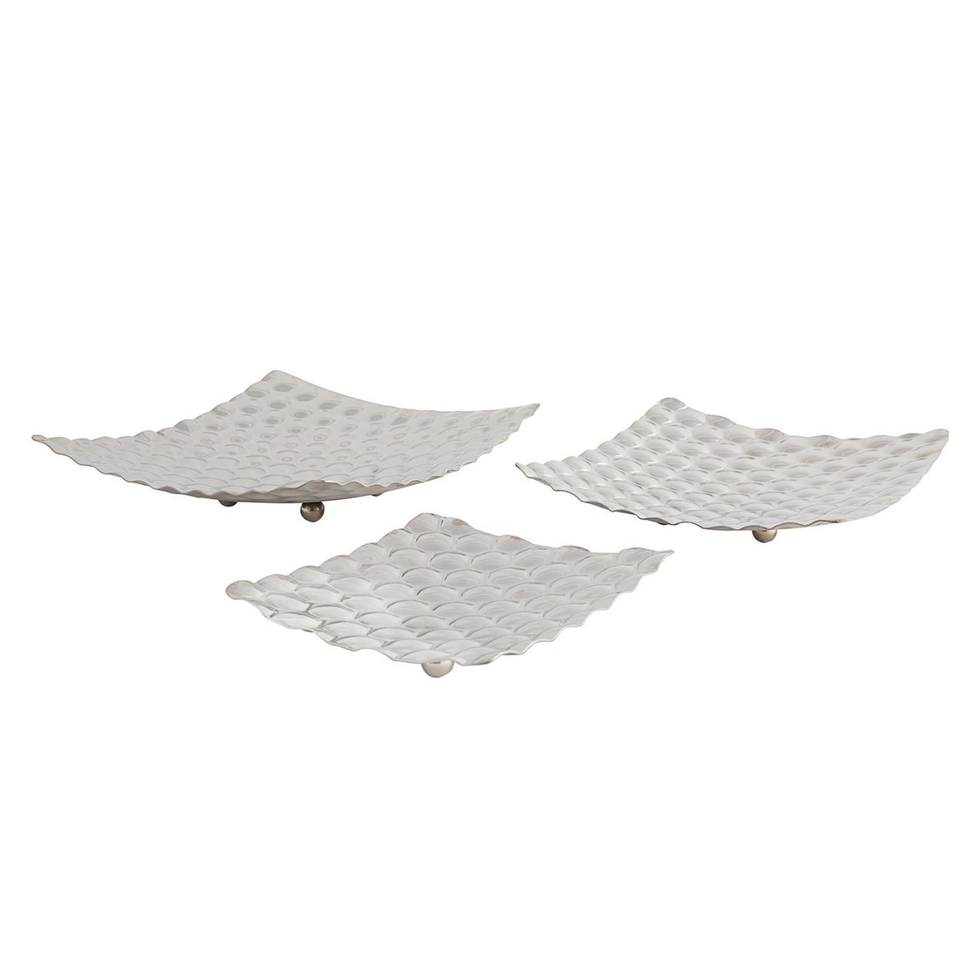 Stainless Steel Square Simmer Platter