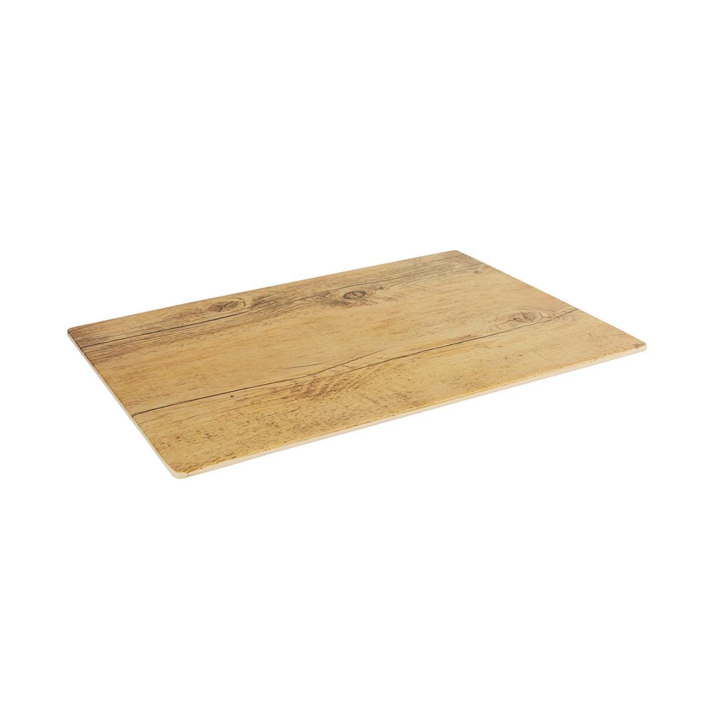 "Wood Plank - 14"" x 10"""
