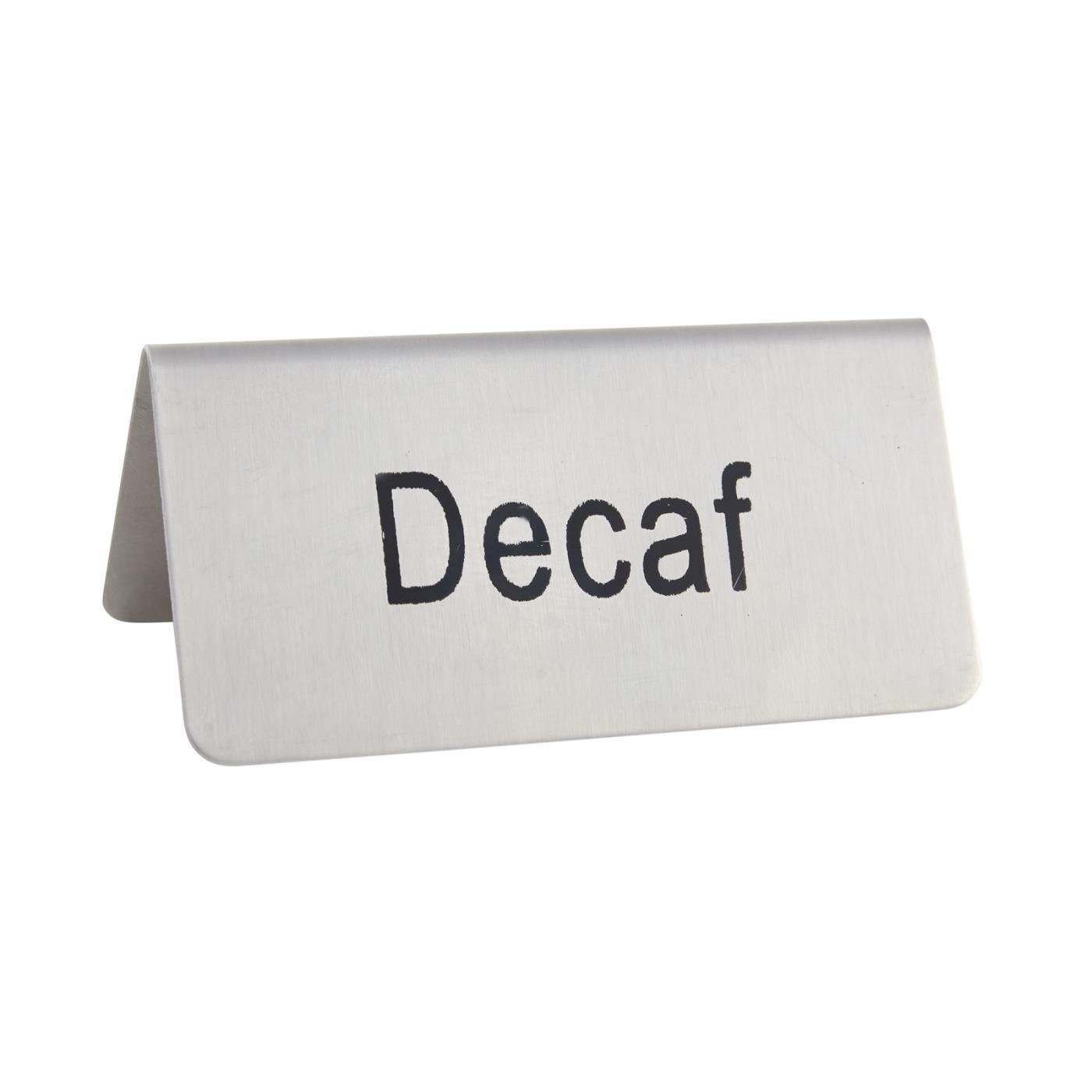 Coffee Tag - Decaf