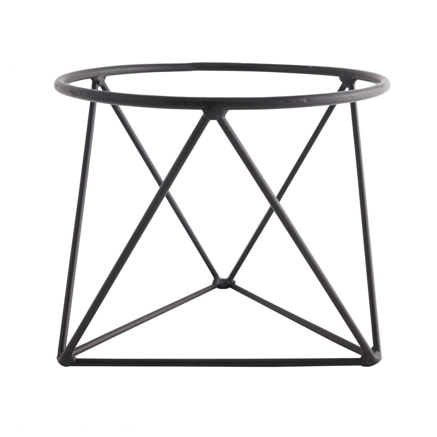 Geometric Black Stand