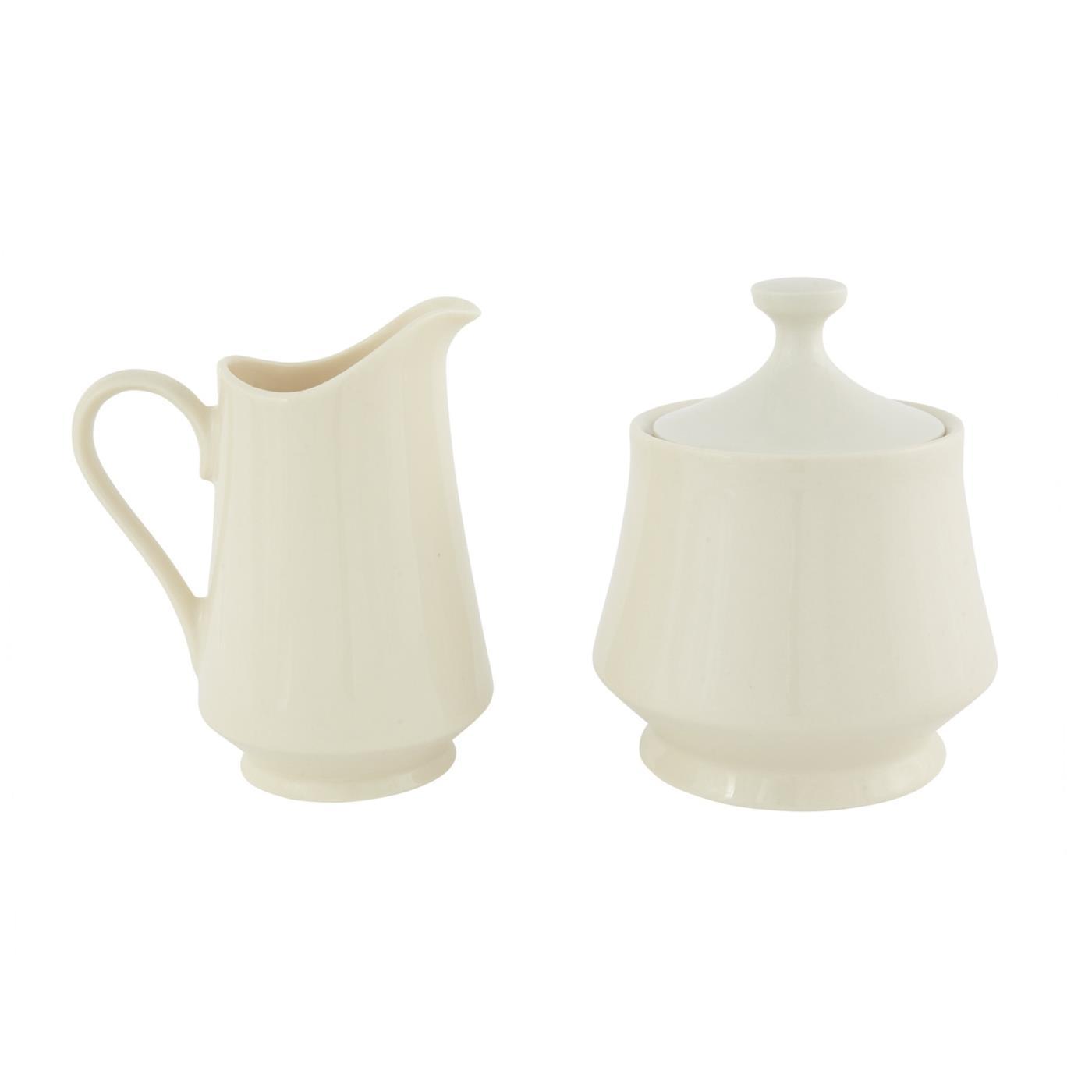 Sugar & Creamer Set - Ivory