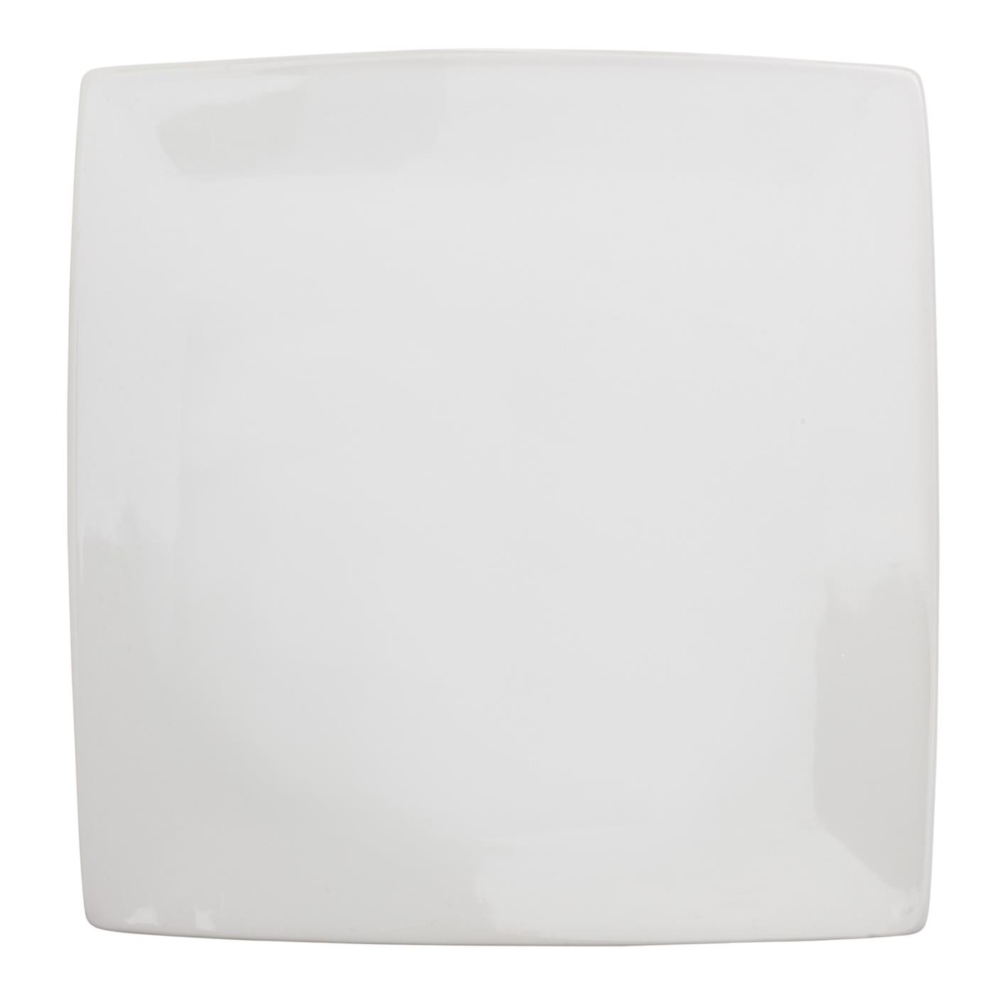 White Canvas Designer Plate 11""