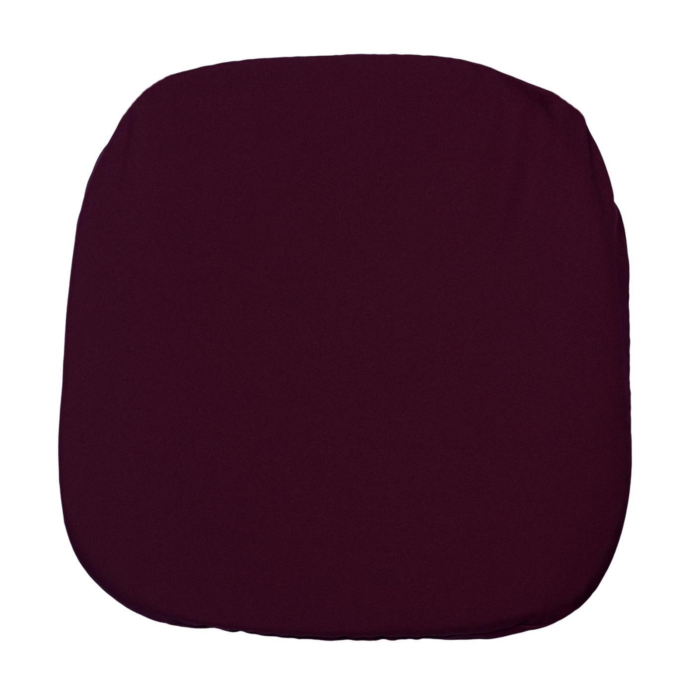 Poly Seat Cushion - Burgundy