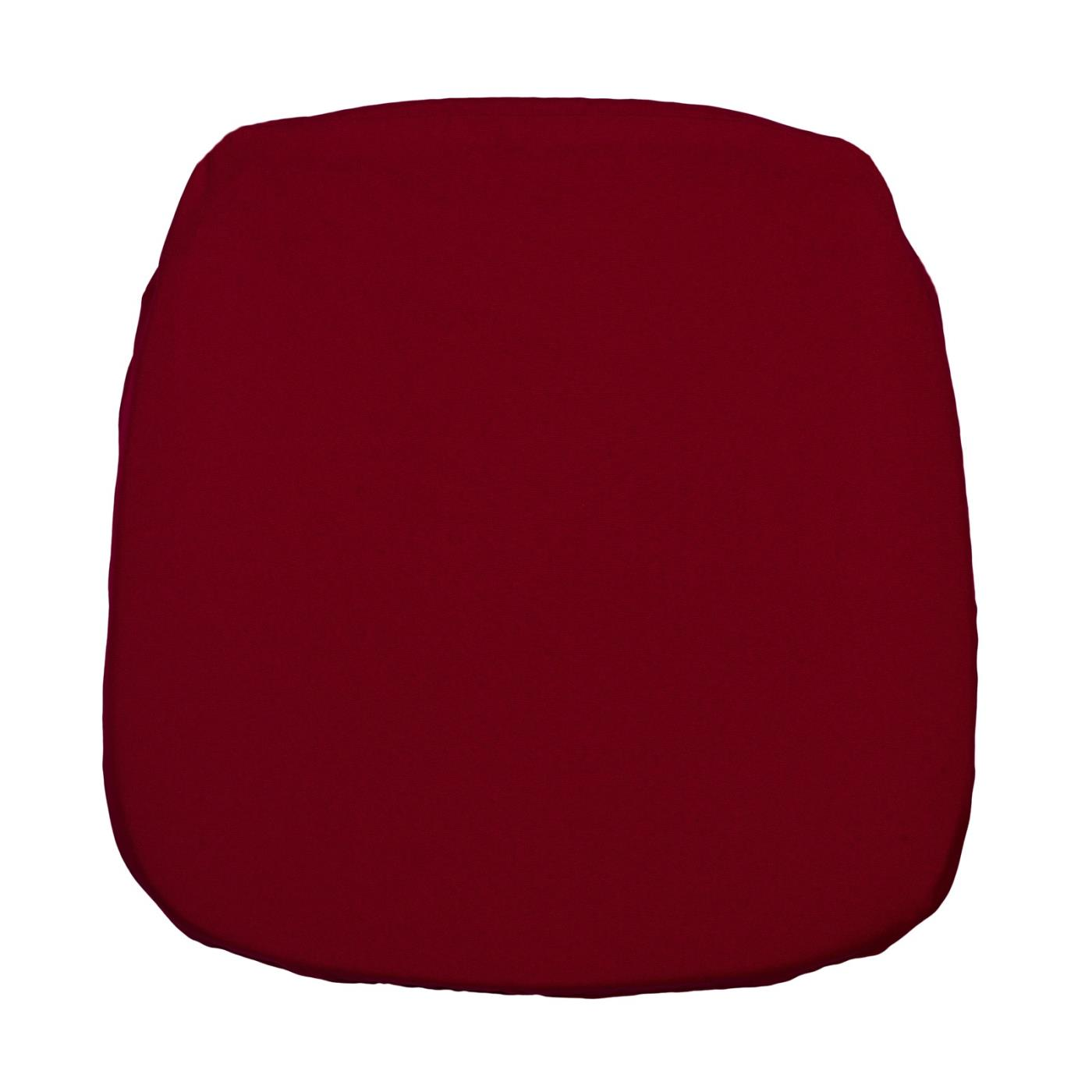 Poly Seat Cushion - Holiday Red
