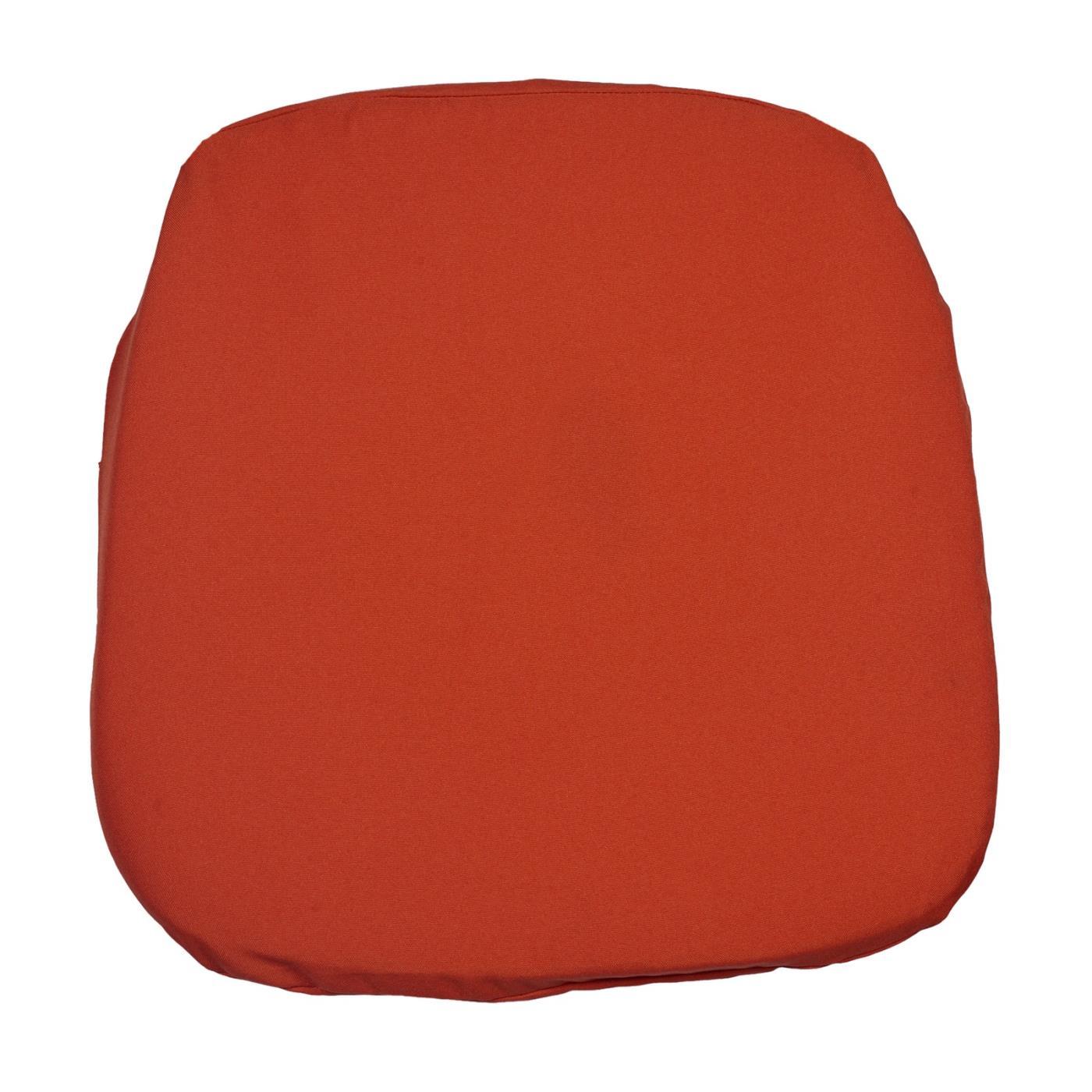 Poly Seat Cushion - Orange